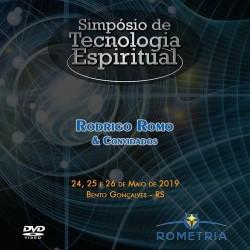 BOX DVD Simpósio de Tecnologia Espiritual 2019 - Bento Gonçalves