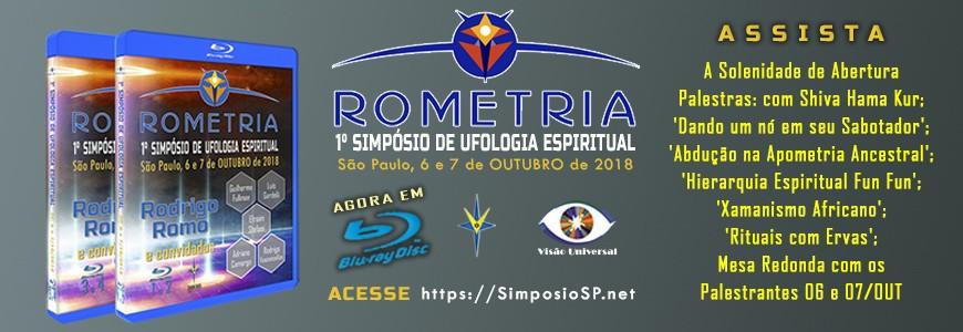 1º Simpósio de Ufologia Espiritual - SP, 6 e 7 de outubro de 2018 (BLURAY Disc)